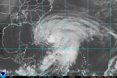 Sandy Oct 25