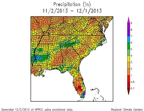 Precip Nov 2013 for Grouper