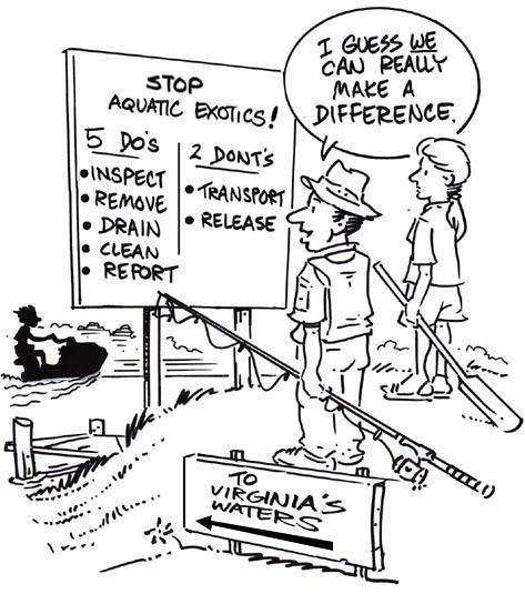 Invasive species cartoon