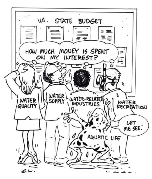 Cartoon State Budget April 2001 Water Central