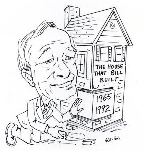 Bill Walker cartoon for Apr 1992 Water News - retirement