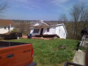 Pulaski tornado house
