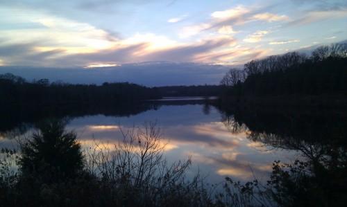 USED Nov13 Sandy River Reservoir near Rice Prince Edward County Nov21 2013