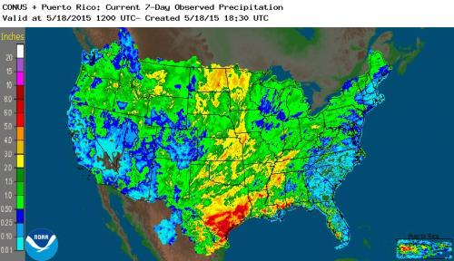 PRecip US May 18