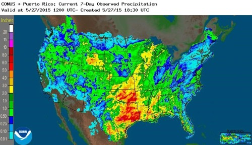 Precip US May 27