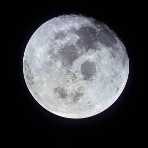 Full moon Apollo 11 July 19 1969
