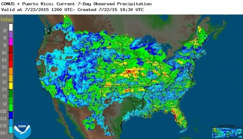Precip US Jul22