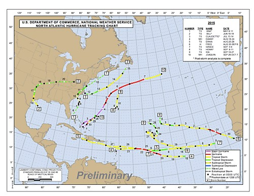 Hurricane tracks Nov 4