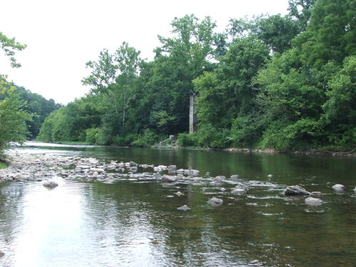 James River near Iron Gate off US Rt 220 Jul19 09