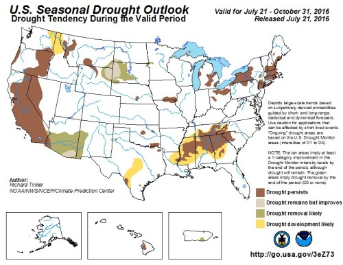 Drought US Outlook