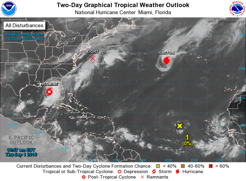 Tropical outlook Sep1