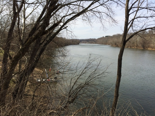 new-river-from-bird-overlook-dudley-landing-radford-with-polar-plunge-ems-boat-feb18-2017