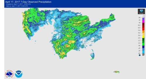 Rainfall US