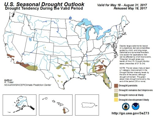 Drought US Outlook May31