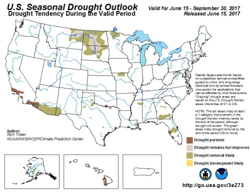 Drought US Outlook Jun
