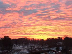 Sunrise Blacksburg Jan10 2017 726 am