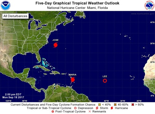tropical storms 5 day Sep18