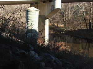 GAGE Nov2017 Opequon Creek near Berryville at Rt 7 bridge Nov28 2010