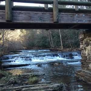 Laurel Creek Bland County Rt 615 and App Trail Jan2 2016 USED Grouper 5-4-18