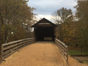 447 Image 3 Humpback Covered Bridge Alleghany County Oct28 2018 ONE USED RADIO 447