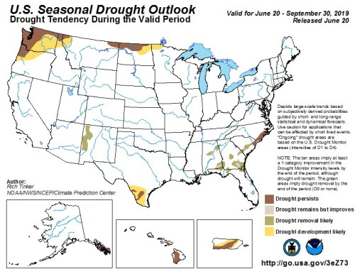 Drought Outlook US June20