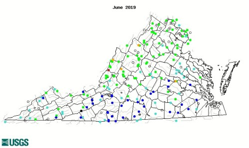 Streams Map June