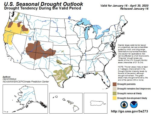 Drought Outlook US