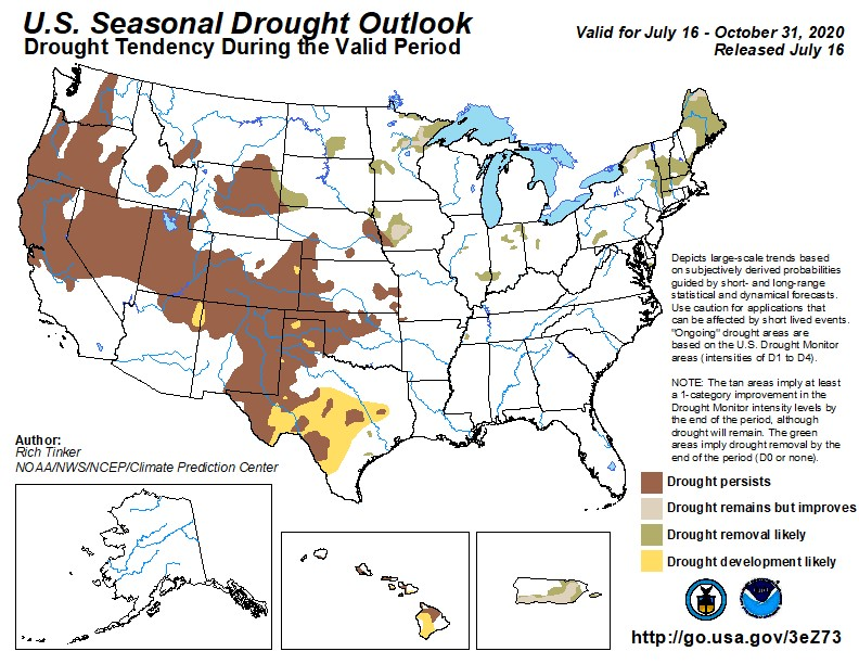 Drought Outlook US Aug4