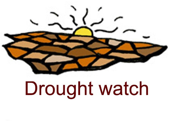 Water status icon drought watch by George Wills